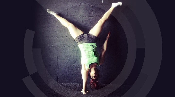 crossfit handstand